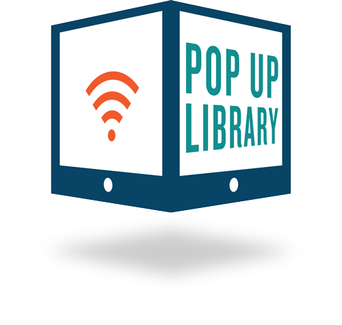 Pop Up Library Logo